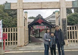 韓国モニターツアー 3班 2日目、2月28日 佐賀忍者村 肥前夢街道